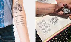 As tatuagens geralmente rendem e contam boas histórias. No caso do projeto da empresaLitographs, as tattoos contam apenas uma: a da famosa obra literária 'Alice do País das Maravilhas', de Lewis Carrol. Com oapoio de 2.500 pessoas tatuadas com trechos do livro, esta pretende ser a tatuagem mais longa do mundo. A ideia é compor a jornada ...