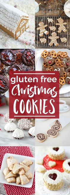 A complete list of gluten free Christmas Cookies - all the classics are here! @whattheforkblog | http://whattheforkfoodblog.com/?utm_campaign=coschedule&utm_source=pinterest&utm_medium=Sharon%20%7C%20What%20The%20Fork%20Food%20Blog&utm_content=Gluten%20Free%20Christmas%20Cookies | holiday baking | gluten free cookies | homemade cookies | gluten free cookie recipes | gluten free desserts | how to make gluten free cookies | easy cookie recipes