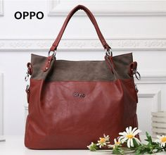 Find More Information about Promotion! 2014 New Fashion Brand OPPO Bags Simple casual women leather handbags shoulder bags Quality handbag show,China handbag organiser Suppliers, Cheap handbag tag from Semai fashion Co. Cheap Handbags, Tote Handbags, Leather Handbags, Fashion Brand, New Fashion, Handbag Organization, Large Tote, Bag Sale, Luggage Bags
