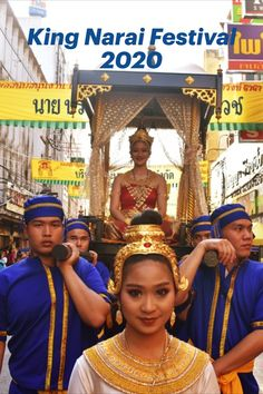 The King Narai Reign Fair 2020 in Lopburi runs until February It's a great event held every year. Check out our report from the opening day. Lots of photos! Thailand Festivals, Thailand Travel Guide, Period Costumes, Where To Go, Reign, Bangkok, Traveling By Yourself, February, Check