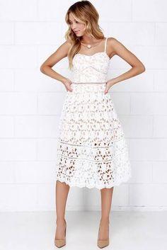 white dress - Google Search