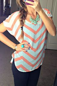 From a blog. This outfit is so cute!! :) even the hair!