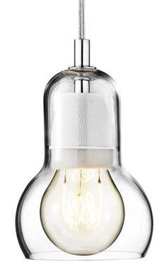 Suspension Bulb Ø 11 cm - Cordon transparent Transparent / câble transparent - And Tradition