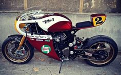 """Triumph T300 Cafe Racer """"ROCKET"""" by XTR Pepo #motorcycles #caferacer #motos 