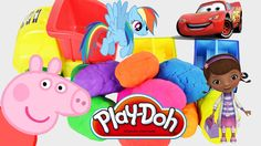 cars 2 surprise eggs peppa pig play doh mlp lalaloopsy McStuffins