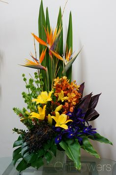 #CorporateFlowers by #QnFlowers #MelbourneFlorist #QueenVictoriaMarket #FunctionFlowers