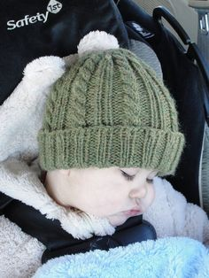 Knitting Pattern Baby Toque : Instant Download PATTERN PDF - Basic Knit Beanie, Ribbed ...
