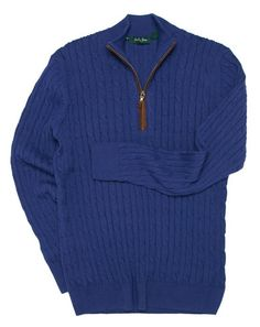 Bobby Jones Alpaca Cable Sweater | Everard's Clothing