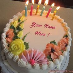 GIFs birthday cake images with names edit, writing names on unique animated birthday cakes, creating beautiful animated happy birthday photos for friends and relatives, a great way to celebrate anyone's birthday online . Happy Birthday Sister Cake, Birthday Cake Write Name, Happpy Birthday, Birthday Cake Gif, Happy Birthday Celebration, Birthday Cake With Candles, Birthday Greetings, Happy Birthday Noor, Happy Birthday Cake Writing