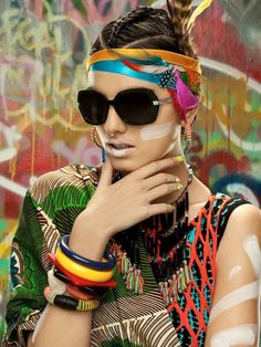 Editorial Vogue Accessory: African Visions | Pagnifik