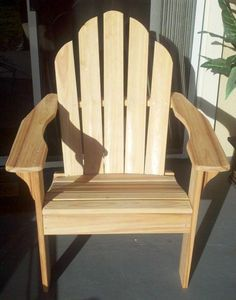 You can have them in thick card templates or solid templates to help you draw out the design for your chair saving you time and money. Woodworking Tools For Sale, Popular Woodworking, Woodworking Furniture, Woodworking Plans, Wood Adirondack Chairs, Adirondack Chair Plans Free, Outdoor Chairs, Rustic Furniture, Outdoor Furniture