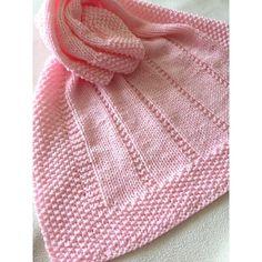 Easy Blanket Knitting Patterns, Easy Knit Baby Blanket, Free Baby Blanket Patterns, Knitted Baby Blankets, Easy Knitting, Baby Patterns, Knitting Needles, Baby Blanket Size, Baby Cardigan Knitting Pattern Free