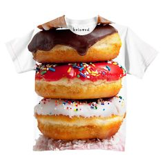 Donut Stack Kid's Tee | Beloved Shirts