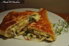 Naleśniki z pieczarkami i serem lub serem i cebulką – Mada w kuchni