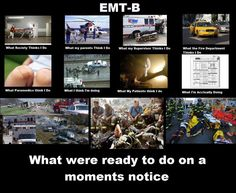 Can't be a good medic without being a good EMT-B first.