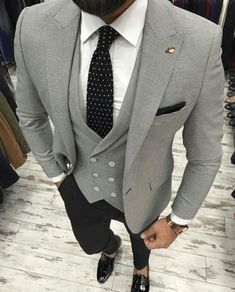 Best of Mens Fashion Classy Gentleman Style The Suits, Suit And Tie, Trendy Mens Fashion, Mens Fashion Suits, Urban Fashion, Fashion Shirts, Cheap Fashion, Mens Suits Style, Man Stuff