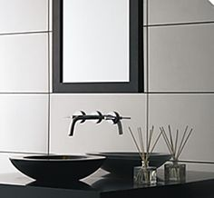 mirror tiles a very nice for bathrooms , but they might be a little harder to maintain because when water gets on it it leaves the stains