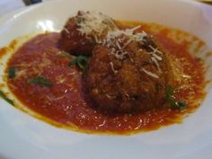 Arancini at Orta in Pembroke, Mass. | The Economical Eater