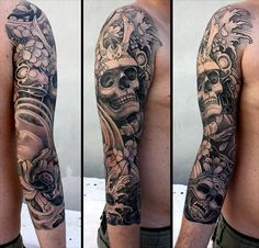 possible cover up skulls/placement