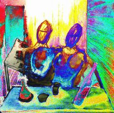 at 2nd STREET Art Series, Figurative, Painting & Drawing, Street, Drawings, Sketches, Roads, Draw, Drawing