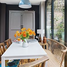What dining room dreams are made of Ercol Windsor plank table