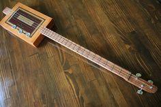 Cigar Box Guitar, 3 String