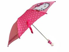 Hello Kitty Umbrella with Molded Handle *** Be sure to check out this awesome product. This Amazon pins is an affiliate link to Amazon.