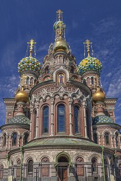 Church of the Savior on Blood, St. Petersburg by Eric Esquivel