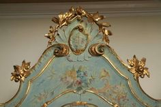 19th Century Venetian Painted Armoire image 10