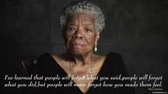 Such a powerful woman, who will truly be missed!! Rest in peace Maya Angelou!