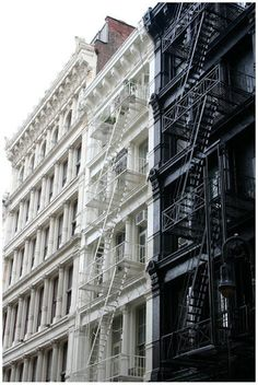 My mom lived in a building like this. Many fond memories of SoHo, NYC!