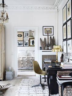 Study in Rupert Peter Landendinger's home in Copenhagen, Denmark