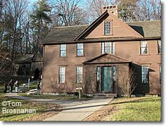 Orchard House, Concord Massachusetts- where Louisa May Alcott grew up