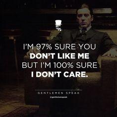 I'm 100% sure God cares!