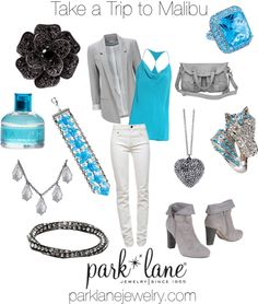 "Take a Trip to Malibu! Park Lane's Pick of the Week! Park Lane will be selecting at least 5 lucky winners to receive one of the jewelry items from this week's Polyvore Pick of the Week Post! Click the ""like"" and ""share"" buttons on Park Lane's ""Polyvore Pick of the Week"" post to be entered in our brand new Pick of the Week Contest! Winners will be selected from only those who like and share the post on their own Facebook pages."