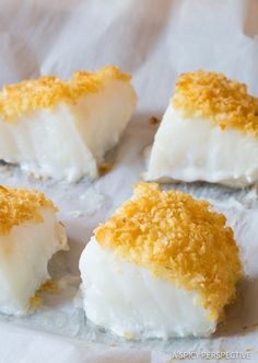 Potato Chip Crusted Baked Sea Bass