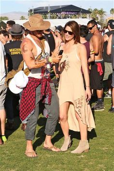 Ashley Greene hangs out with Kellan Lutz at the Coachella Valley Music and Arts Festival in Coachella, Calif., on April 12, 2014.