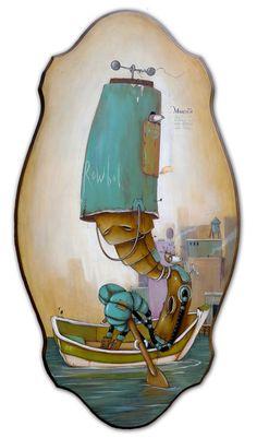 Rowbot by Johan Potma