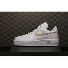 the best attitude 6d307 c01a2 OFF-WHITE Nike Air Force 1 Low White Silver AA3825-100