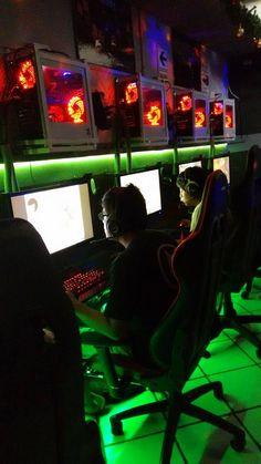 seven lan center (@SEVENLANCENTER) | Twitter Lan House, Gaming Lounge, Gaming Center, Game Cafe, Computer Shop, Gamer Room, Club Design, Esports, Arcade