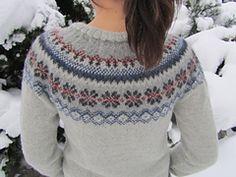 Ravelry: Project Gallery for Bergen jacket pattern by DROPS design Fair Isle Knitting Patterns, Knitting Designs, Knit Patterns, Norwegian Knitting, Icelandic Sweaters, Jacket Pattern, Free Knitting, Mantel, Knitwear