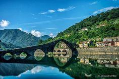Borgo a Mozzano (Lu) - Ponte del Diavolo - Foto di Alessandro Fibbi