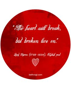Beth K. Vogt | In Others' Words: The Beauty of a Broken Heart | http://www.bethvogt.com