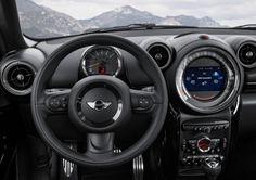 2015 Mini Paceman cockpit 600x424 2015 Mini Paceman