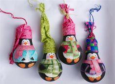 Deb's light bulb ornaments