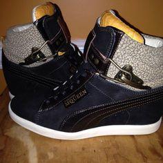 Alexander MCQueen/Puma  wedge sneakers