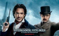 """Sherlock Holmes: A Game of Shadows"" - Paris variant poster (2011)."
