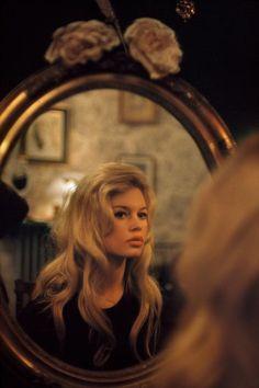 Brigitte Bardot Mirroring
