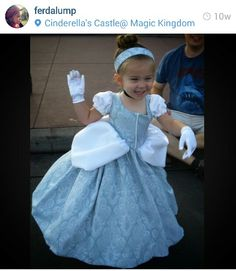 This woman is my hero. She sews her adorable daughter these amazing Disney costumes then documents it on her instragram page.  Go check her out at Ferdalump.  :) just amazing!
