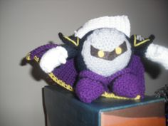 Metaknight amigurumi (Crochet)